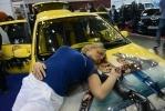 """Фоторепортаж: «Новая Лада Калина и дургие авто на выставке """"Мир автомобиля – 2013"""" в Санкт-Петербурге »"""