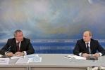 Путин, совещание по космической отрасли, 12 апреля 2013: Фоторепортаж
