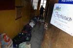 В Петербурге подожгли мини-отель на Балтийской улице, 29: Фоторепортаж