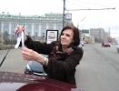 """Акция """"Белое кольцо"""" в Москве : Фоторепортаж"""