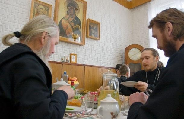 Меню Великого поста братии Свято-Данилова монастыря. Четвертая седмица 8-14 апреля