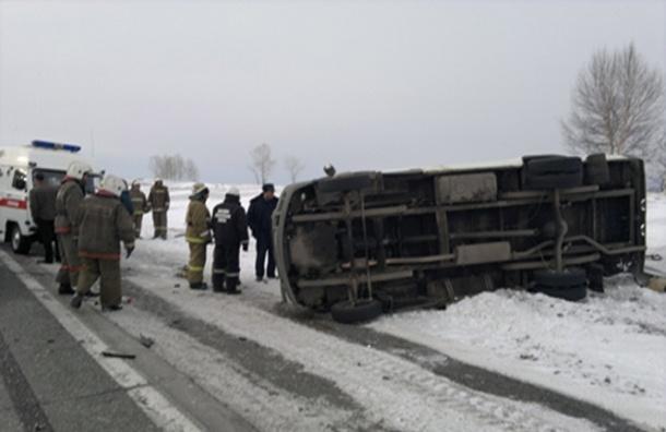 В ДТП под Челябинском погибли четыре человека