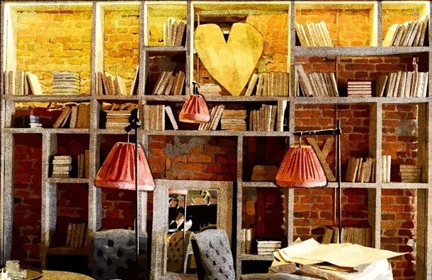 «Мой район» увидел первым, что за  Biblioteka скрывается в стенах Дома военной книги на Невском
