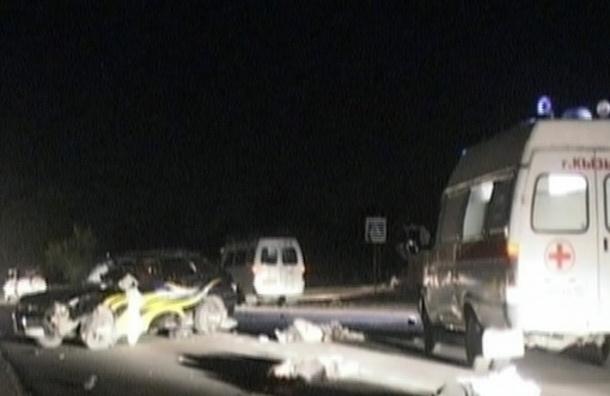 В Брянской области иномарка насмерть сбила трех подростков