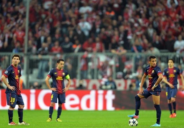 Бавария - Барселона 23 апреля: Фото