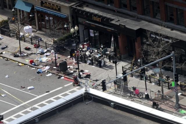 Теракт в Бостоне 15.04.2013: Фото