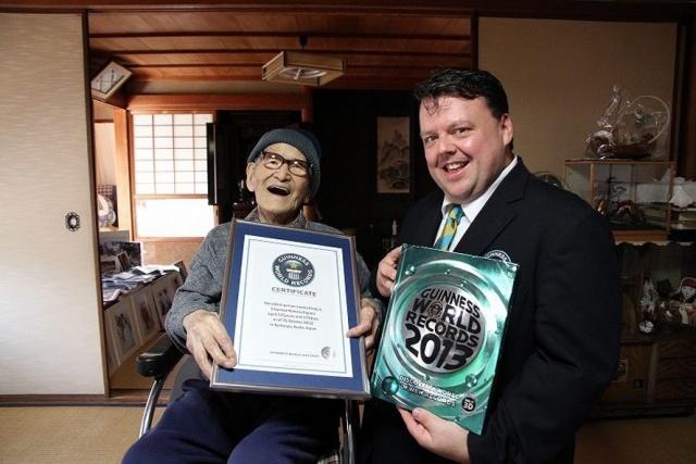 Дзироэмон Кимура, самый старый человек: Фото