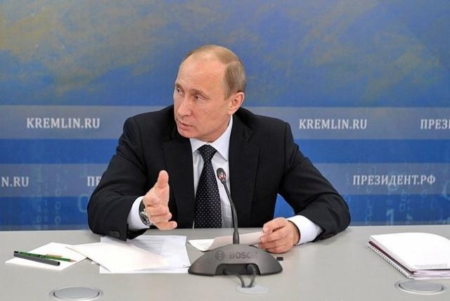Путин, совещание по космической отрасли, 12 апреля 2013: Фото