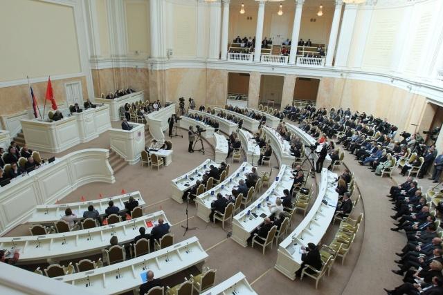 Георгий Полтавченко в Законодательном собрании: Фото