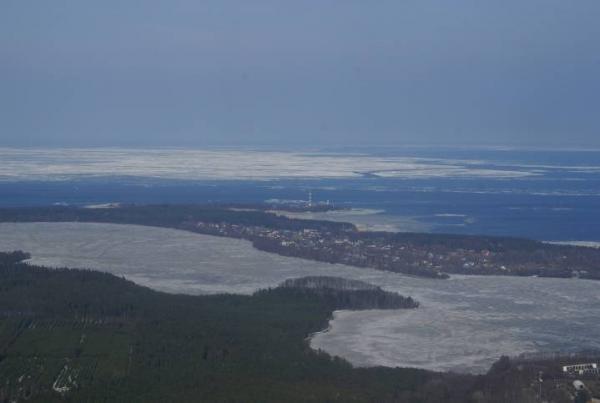 Авиаразведка паводковой обстановки на западе Ленинградской области: Фото