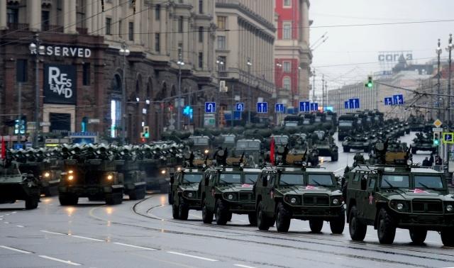 Репетиция парада Победы в Москве 26 апреля: Фото