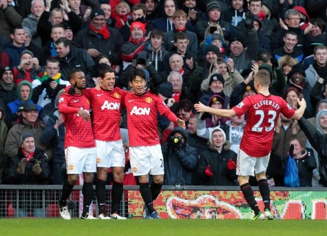Манчестер Юнайтед - Челси 10 марта 2013: Фото