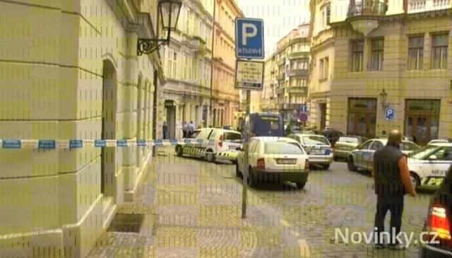 взрыв в Праге 29 апреля 2013: Фото
