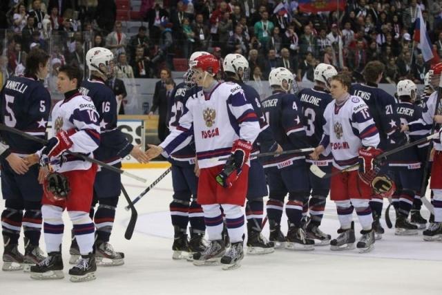 Россия - США хоккей: Фото
