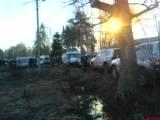 Пожар в психбольнице в поселке Раменский: Фото