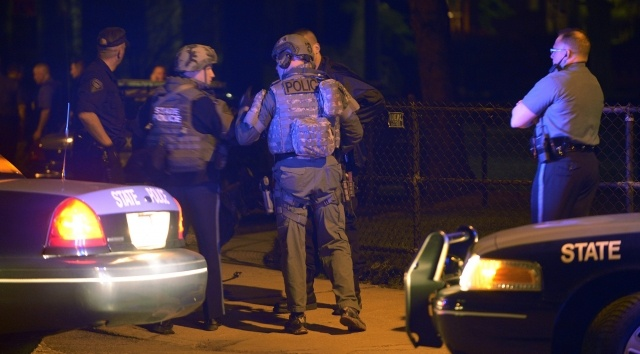Бостон, поимка террористов: Фото