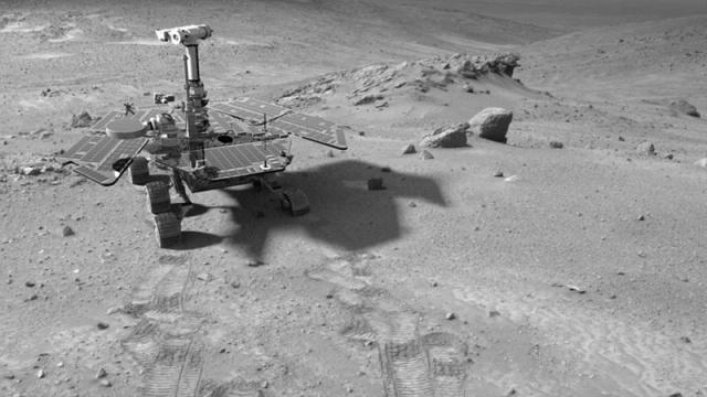 Марсоход Spirit: Фото