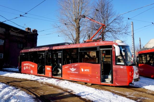 Wi-Fi-трамвай: Фото