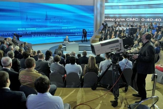 Прямая линия Владимир Путин 25 апреля 2013: Фото