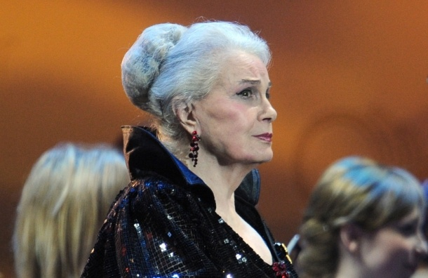 Актриса Элина Быстрицкая отмечает 85-летие