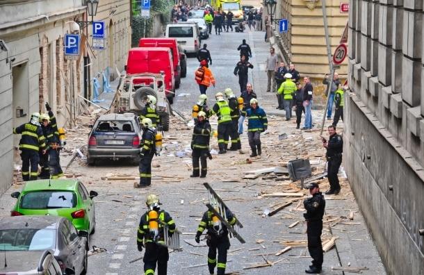 Жертвами взрыва в Праге стали 4 человека, около 50-ти получили ранения