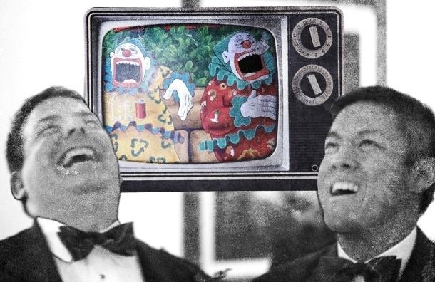 Телевидение устроило геноцид юмора в России