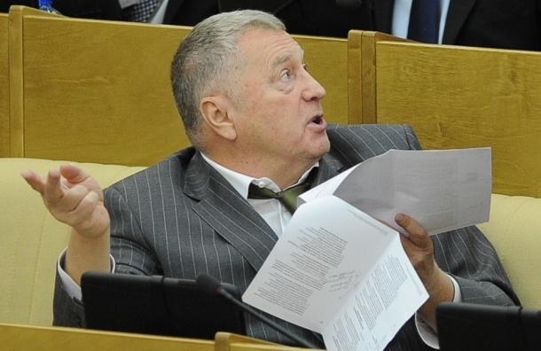 Владимир Жириновский предложил запретить СМИ извещать о массовых убийствах
