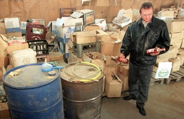В Москве изъяли более миллиона бутылок поддельной водки