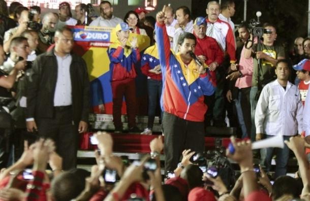 Николаса Мадуро официально провозгласили новым президентом Венесуэлы