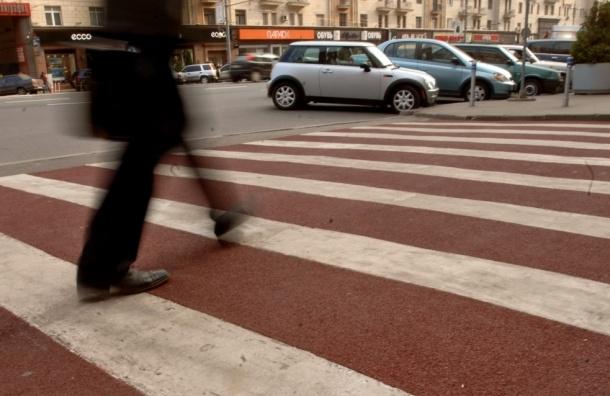 Пешеходные переходы в Москве поднимут на 10 см