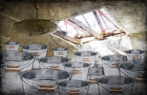 Свежеотремонтированные крыши текут в Петербурге сильнее, чем старые