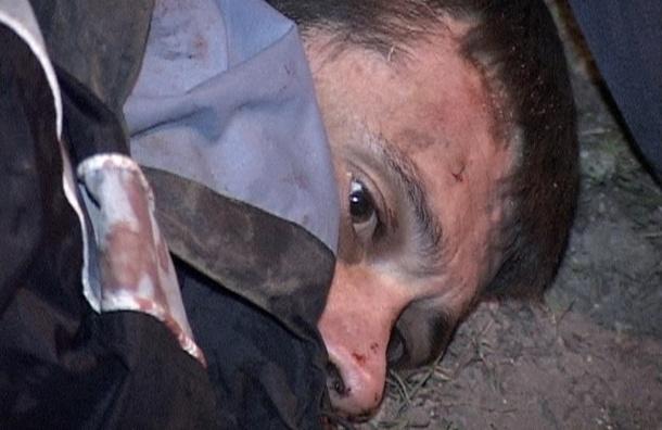 Сергей Помазун прятался от полиции в болоте