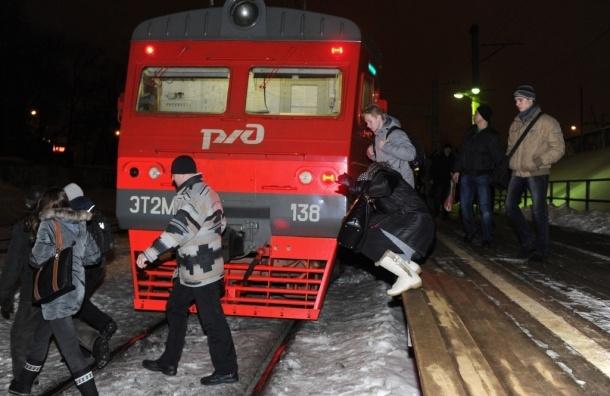 В Москве электричка сбила двух безбилетников
