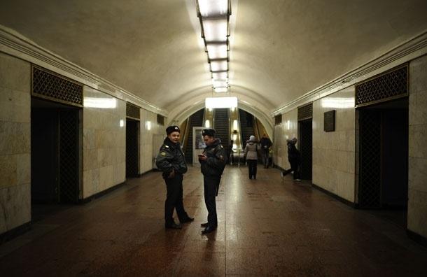 Взрывных устройств на станции метро