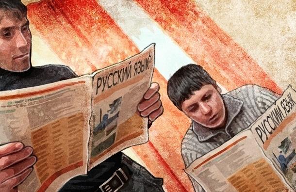 Мигрантам в Петербурге русский язык не нужен, и интегрироваться они не хотят