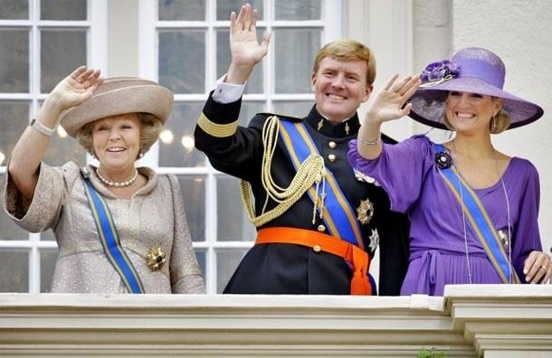 На троне Нидерландов  - король Виллем-Александер, самый молодой монарх Европы XXI века