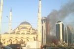Небоскреб в «Грозном-Сити» могли поджечь специально, заявил прокурор Чечни