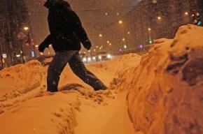 На Петербург надвигается сильный снегопад