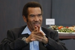 На президента Ботсваны напал голодный гепард