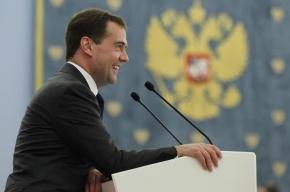 Дмитрий Медведев «ВКонтакте» пожелал россиянам избегать последствий своего остроумия