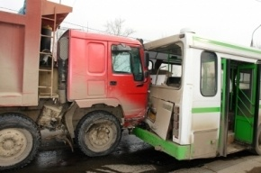 Авария в Иркутске на бульваре Рябикова: столкнулись около 20 машин