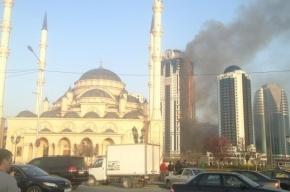 Чеченцы пошутили о пожаре в «Грозном-Сити», и их отправили ремонтировать небоскреб