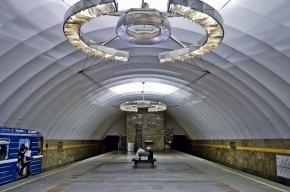 Из-за падения человека остановлено движение поездов в метро Петербурга