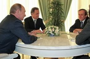 Путин пообещал выучить французский вместе с министром спорта Мутко