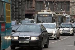Названы самые длинные пробки Петербурга