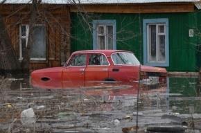 Женщина утонула в собственном автомобиле во время наводнения в Ленобласти