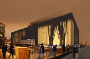 Дизайнеры предложили накрыть вторую сцену Мариинки театральным занавесом
