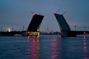 В Петербурге сегодня ночью разведут шесть мостов