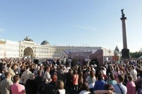 Петербург заплатит за рекордный День города 40 млн рублей