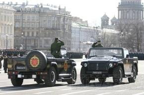 Репетиция парада Победы создаст проблемы автомобилистам